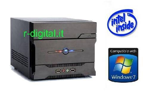MINI COMPUTER INTEL ITX CORE I3 550 PC RAM 4Gb HD 500Gb CARD R